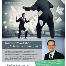 Inhouse Workshop Arbeitsrecht kompakt